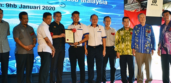Launching of Malaysia's ever first Milk Fish farm